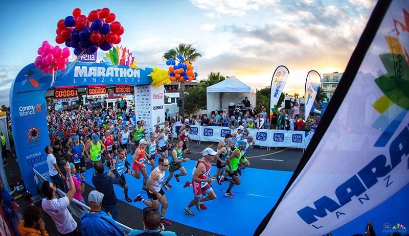 Lanzarote International Marathon 2018