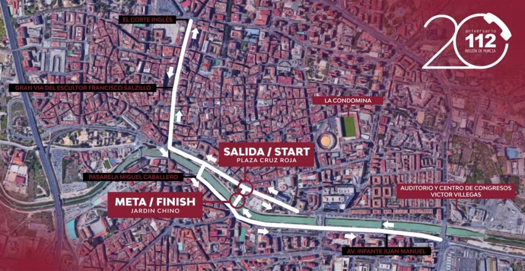 Carrera Popular 20 Aniversario 112 Murcia
