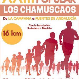 Carrera Popular Los Chamuscaos 2019