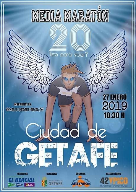 Media Maraton Ciudad de Getafe 2019