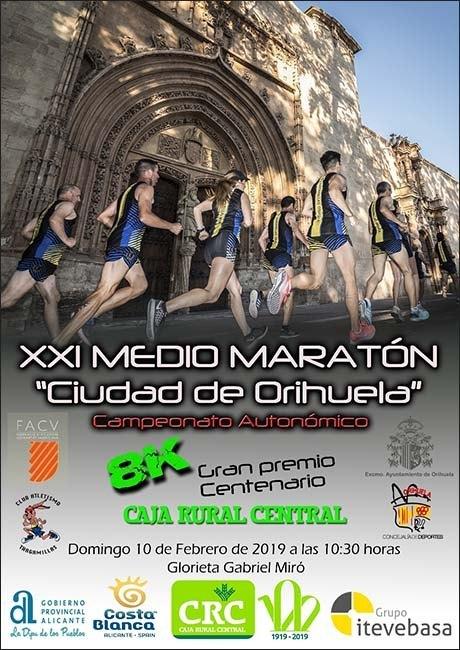 Medio Maraton Ciudad de Orihuela 2019
