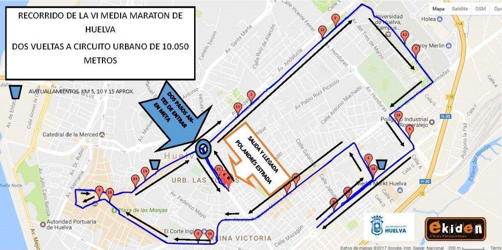 Media Maraton de Huelva