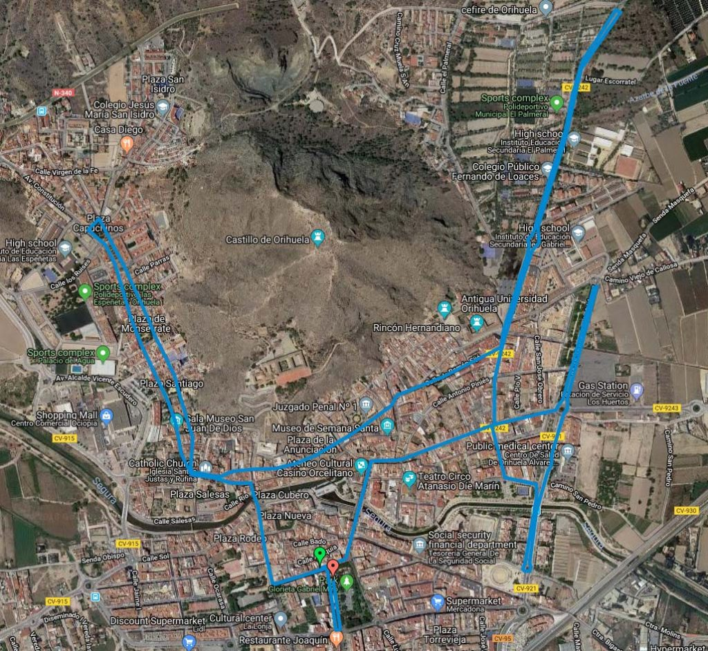 Medio Maraton Ciudad de Orihuela