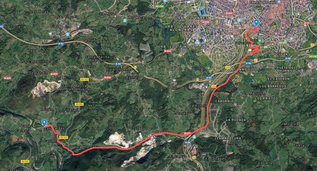 Carrera 10 Km Oviedo Las Caldas