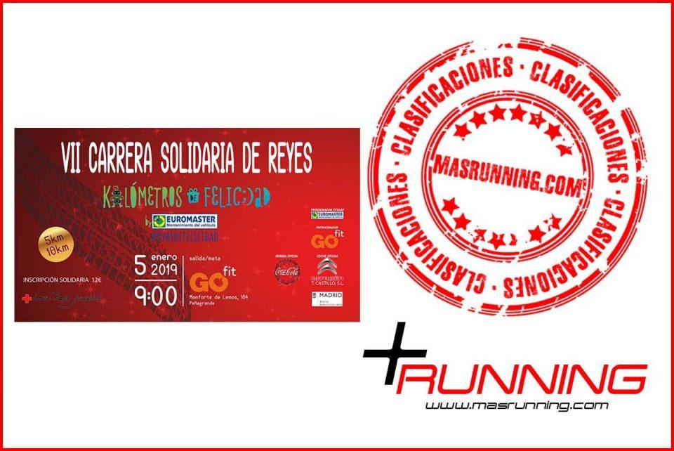 resultados Carrera Solidaria de Reyes 2019