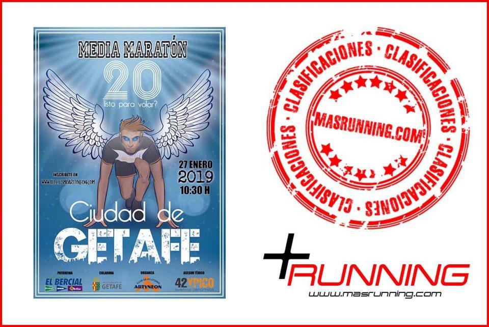 resultados Media Maratón de Getafe 2019