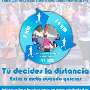 Media Maratón Ciudad Universitaria 2019