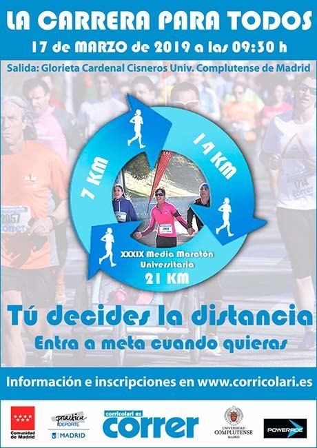 Media Maratón Ciudad Universitaria 2019