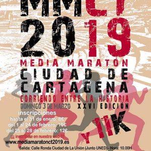 Media Maraton de Cartagena 2019