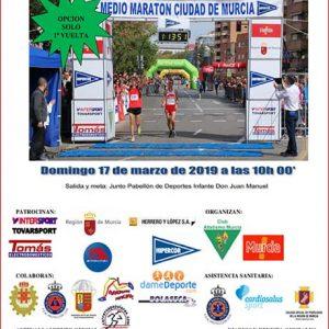 Medio Maratón Ciudad de Murcia 2019