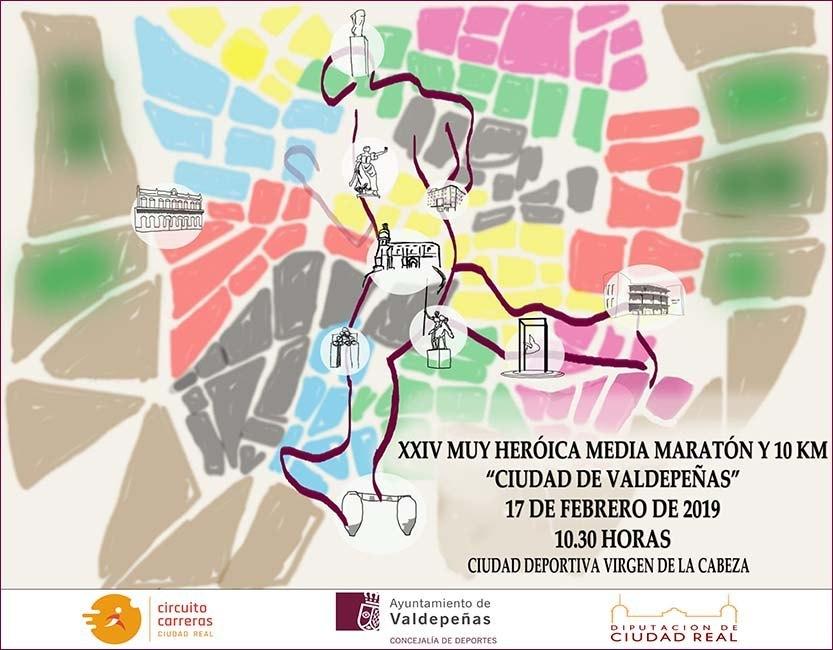Media Maratón de Valdepeñas 2019
