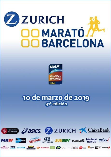 Zurich Marató Barcelona 2019