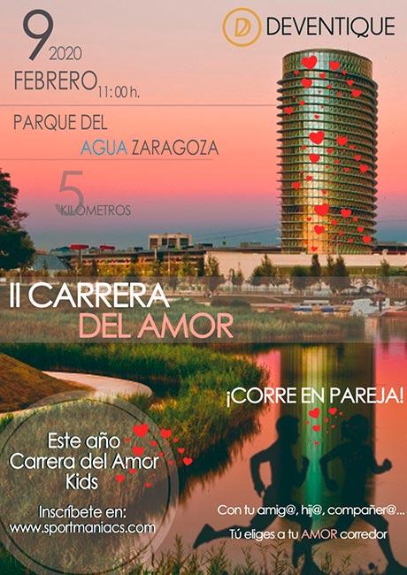 II Carrera del Amor 2020 Zaragoza