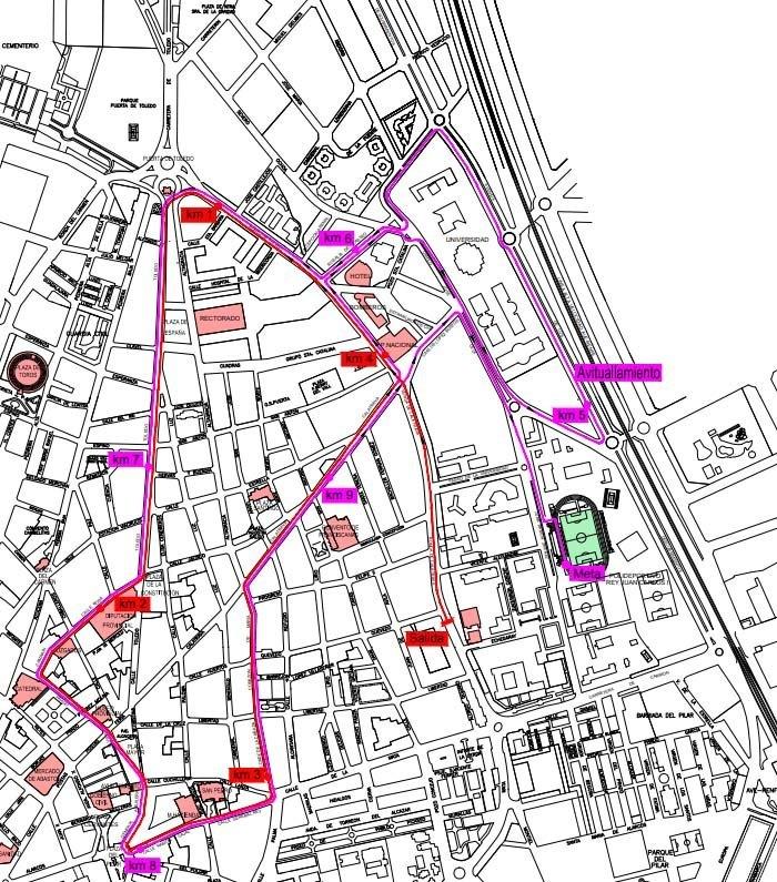 Carrera Urbana de Ciudad Real La Tribuna 2019