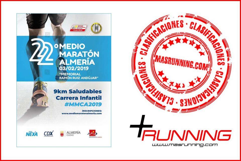 resultados Media Maratón de Almeria 2019
