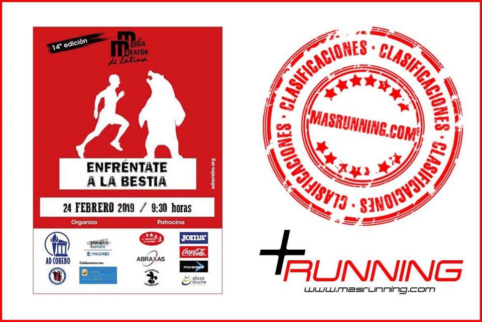 resultados Media Maratón de Latina 2019