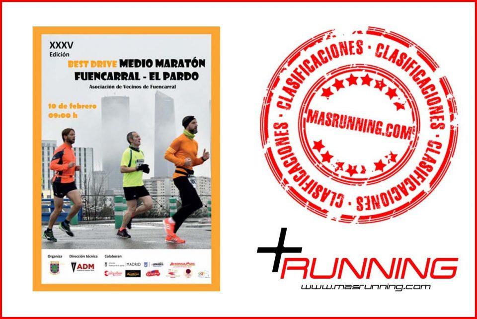 resultados Media Maratón Fuencarral El Pardo