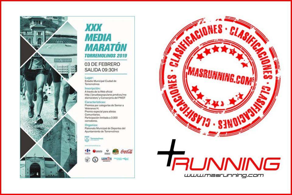 resultados media maratón de Torremolinos 2019