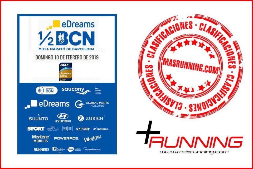 resultados Mitja Marató de Barcelona 2019