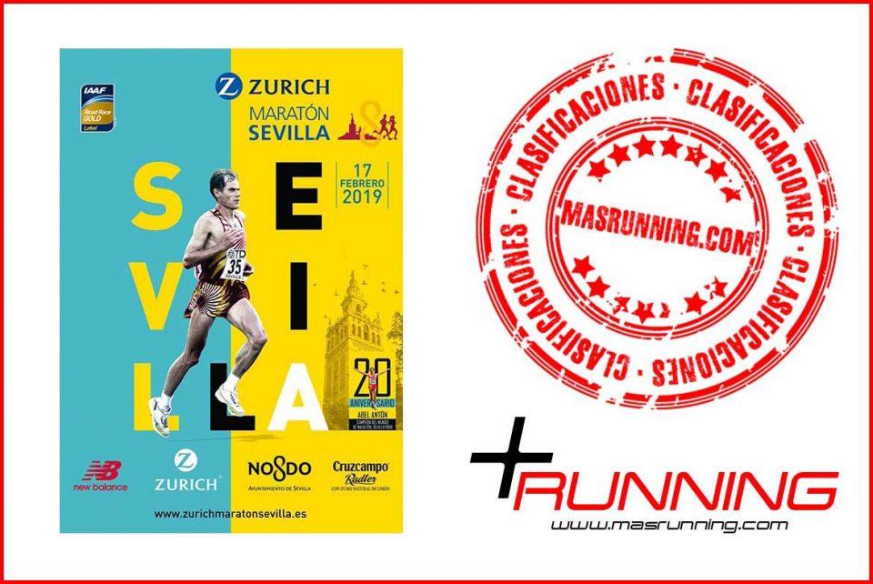 resultados Zurich Maratón de Sevilla 2019