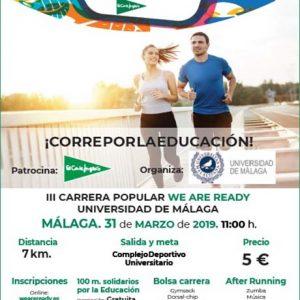 Carrera We Are Ready Málaga 2019
