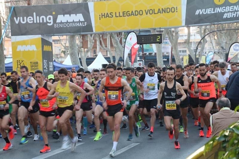 resultaods media maraton de benidorm 2019