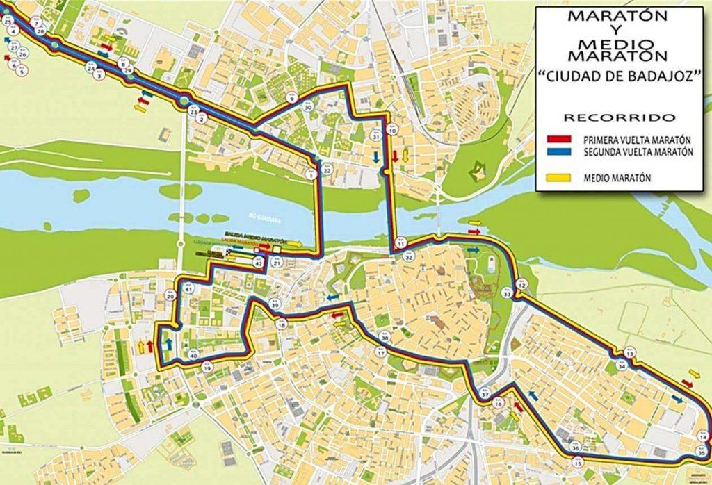 Maratón Popular de Badajoz 2019