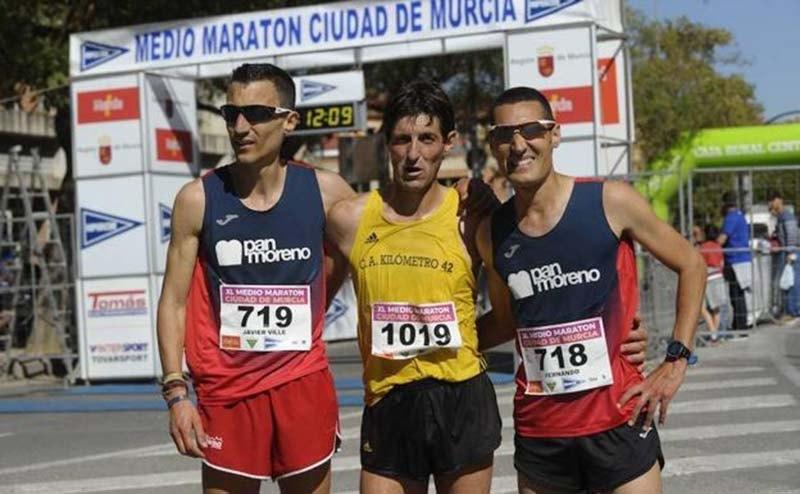 resultados Media Maraton Ciudad de Murcia 2019