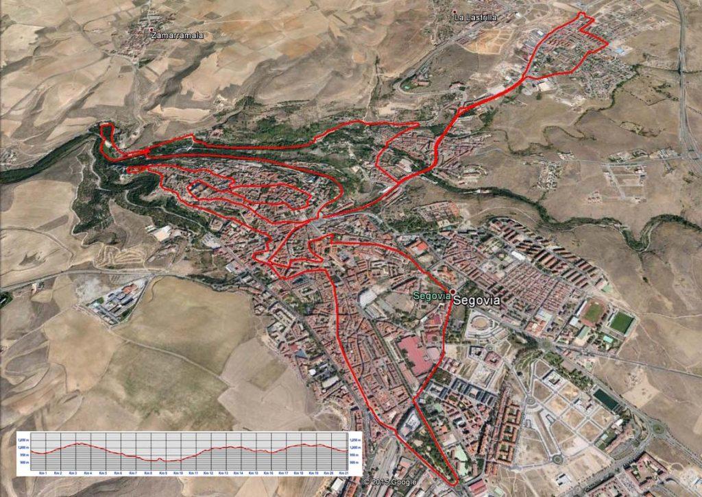 Media Maraton Ciudad de Segovia 2019