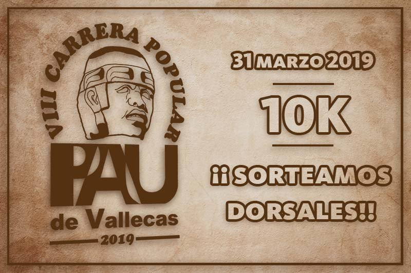 Carrera Popular PAU de Vallecas 2019