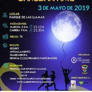 Carrera Nocturna Contra El Cáncer Infantil Santander 2019