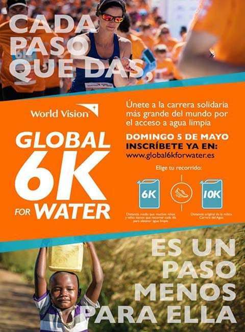 Global 6K for Water Madrid 2019