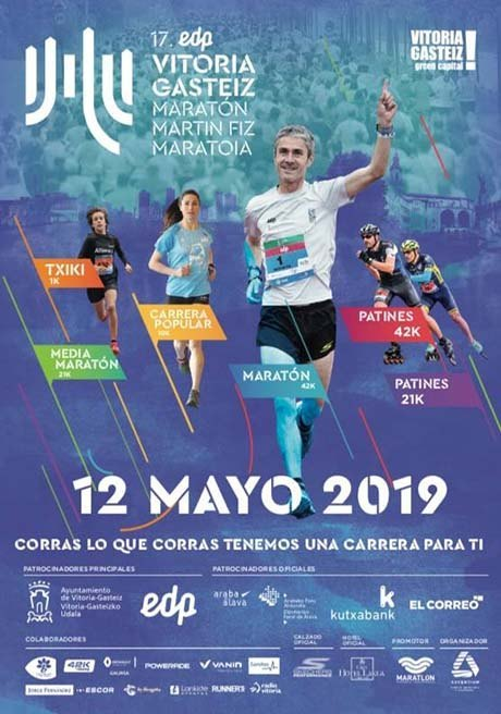 Vitoria Gasteiz Maratón Martín Fiz 2019