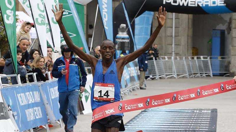 resultados coruña 42 maraton atlantica 2019
