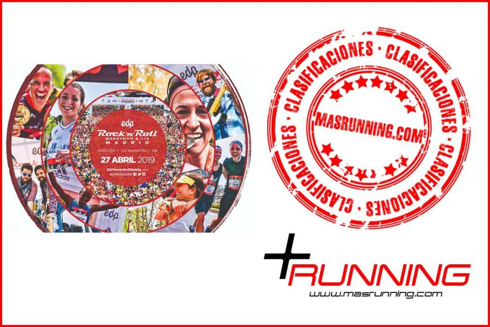 Resultados Maratón de Madrid 2019