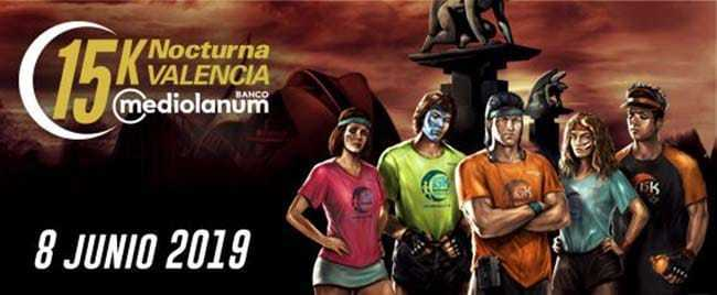 15K Nocturna Valencia 2019