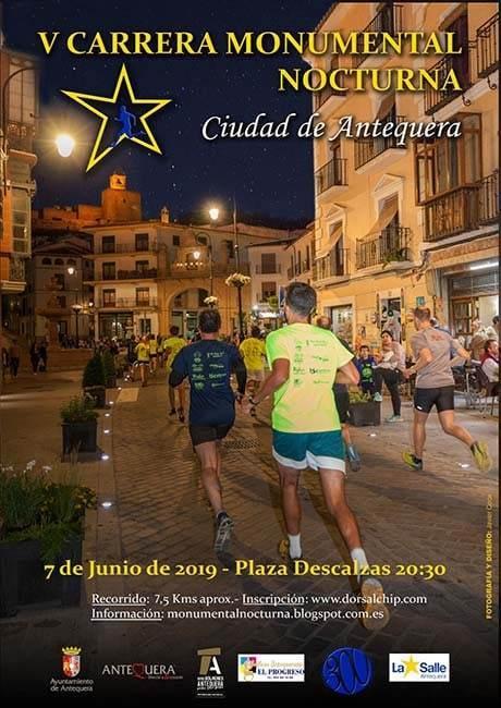Carrera Monumental Nocturna Ciudad de Antequera 2019