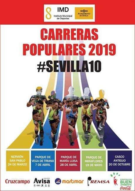 Carrera Popular Parque de Maria Luisa 2019