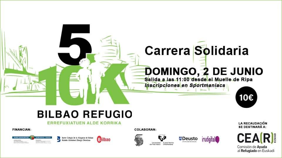 Carrera Solidaria Bilbao Refugio 2019