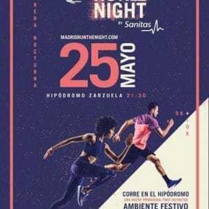 Madrid Run The Night by Sanitas 2019