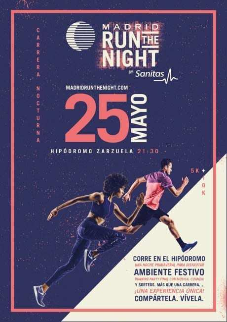 Madrid Run The Night by Sanitas 2019