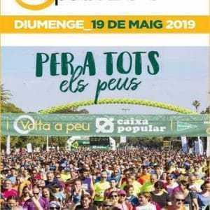 Volta a Peu a Valencia 2019