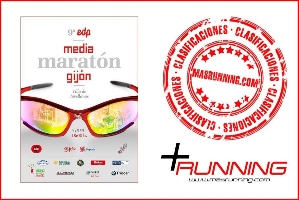 resultados Media Maratón Gijón 2019