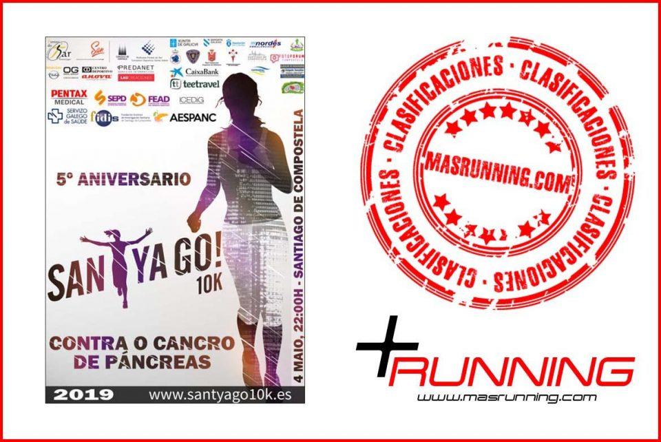 resultados Santyago 10K 2019