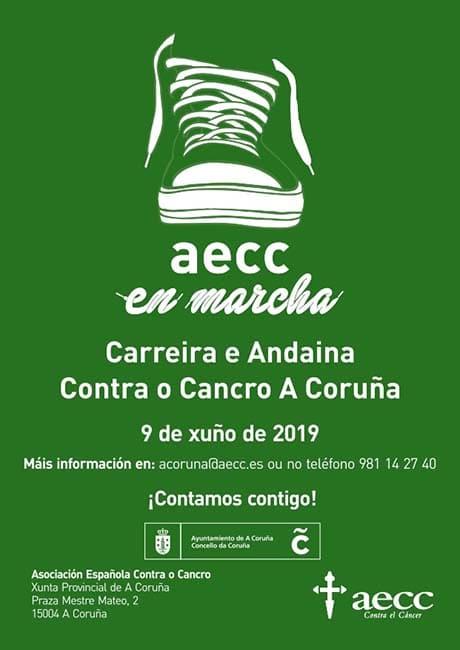 AECC En Marcha Contra el Cáncer A Coruña 2019