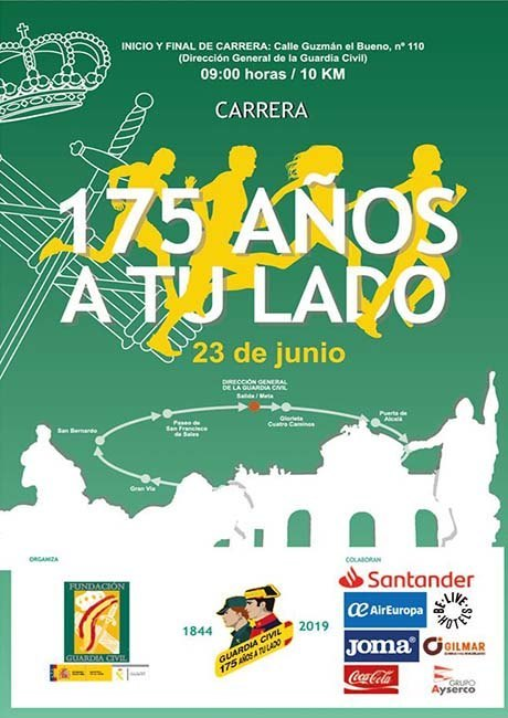 Carrera Guardia Civil 175 Años a tu Lado 2019