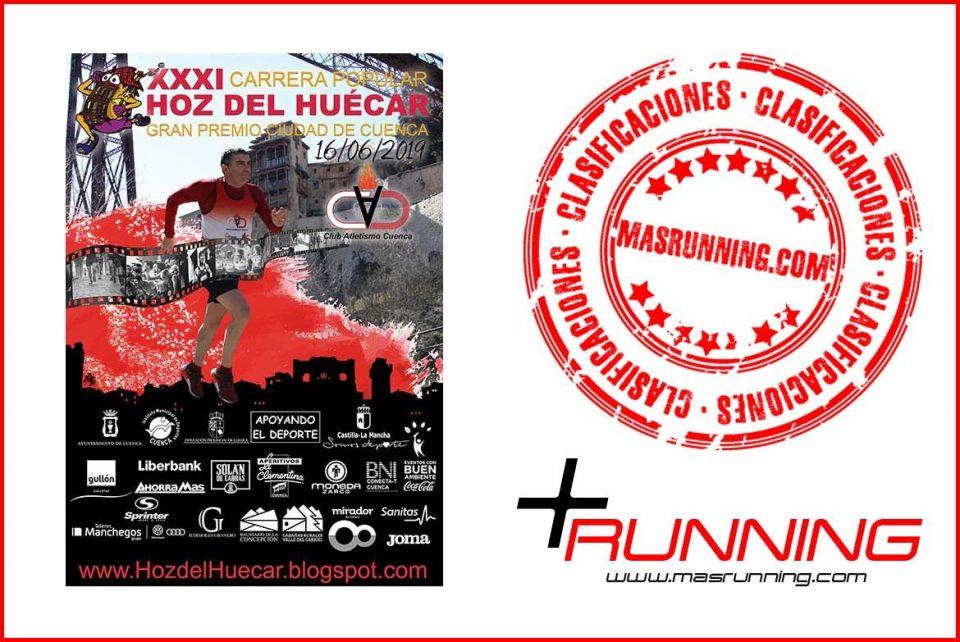 resultados Carrera Popular Hoz del Huécar 2019