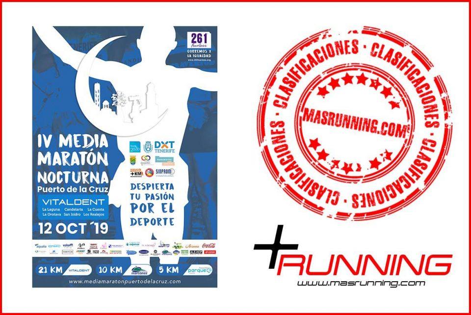 resultados media maraton puerto de la cruz 2019