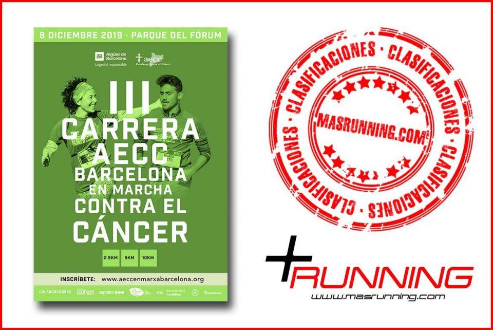 Resultados AECC Barcelona En Marcha Contra El Cancer 2019