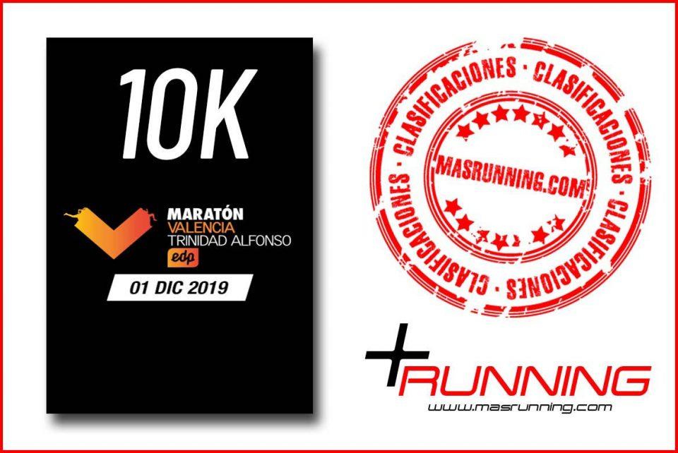 resultados 10k maraton valencia 2019